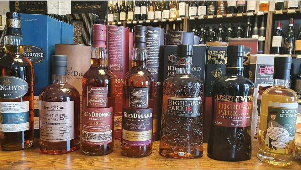 Whisky bis unters Dach!